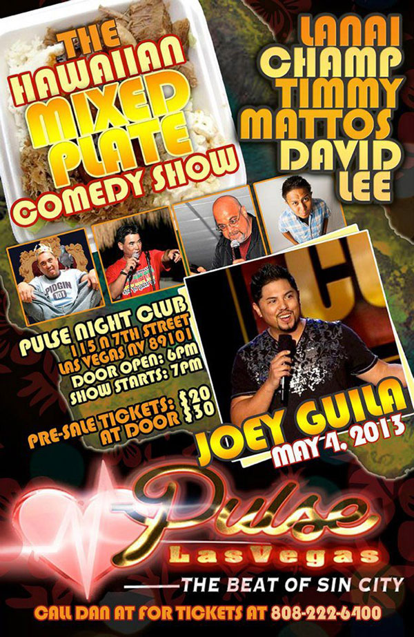 the hawaiian mixed plate comedy show